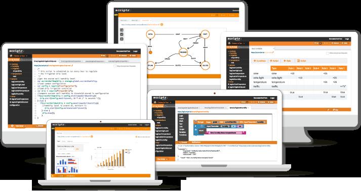 IoT Cloud Platform for Scripting Applications